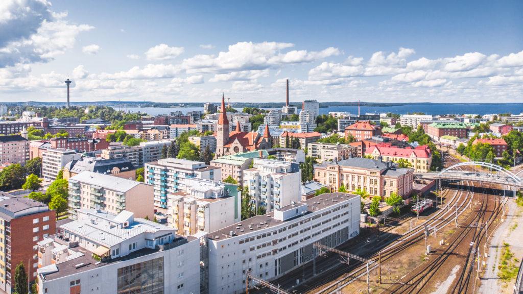 Tampere ilmakuva