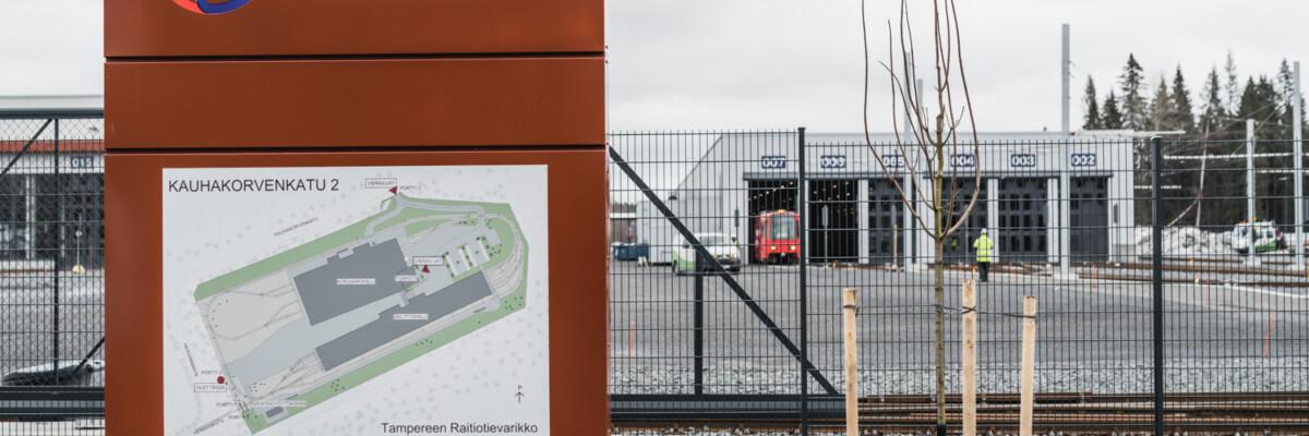 Tampereen raitiotievarikko