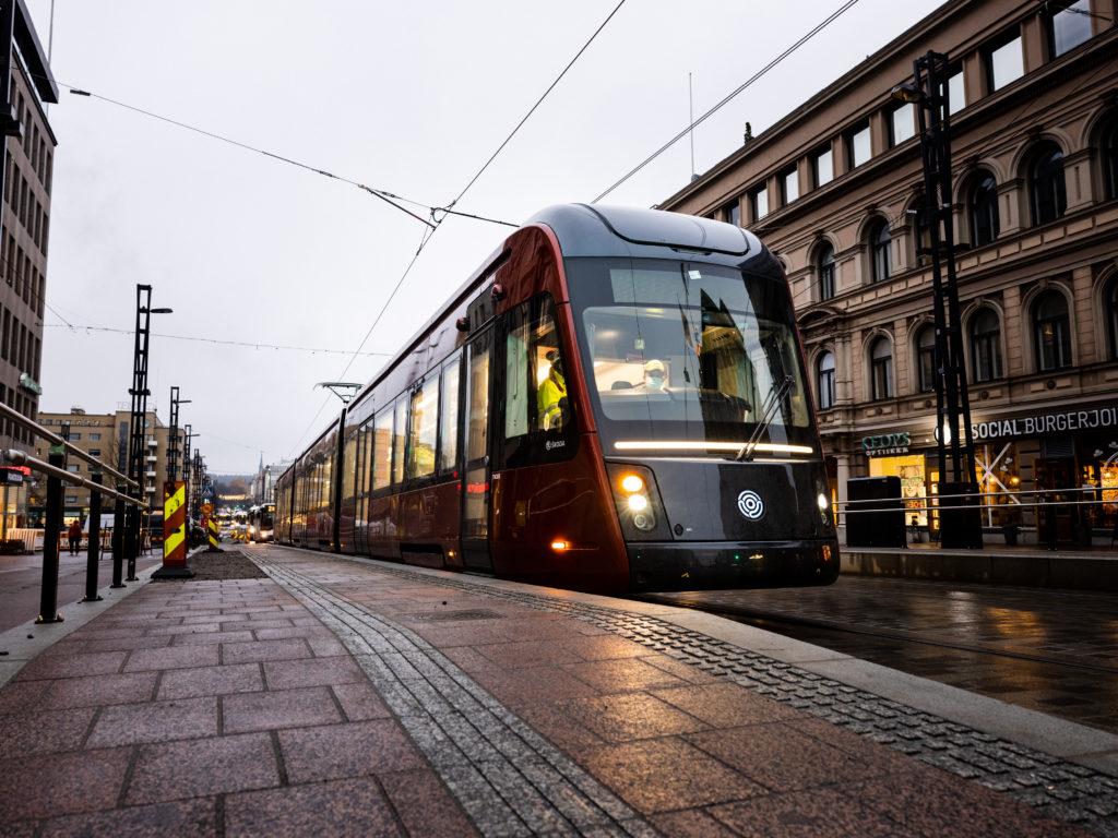 Tampereen Ratikan ensimmäiset koeajot Hämeensillalla